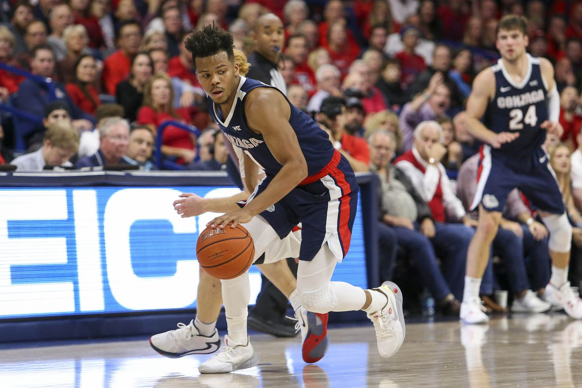 College Basketball Rankings Gonzaga Now Ranked No 2 In