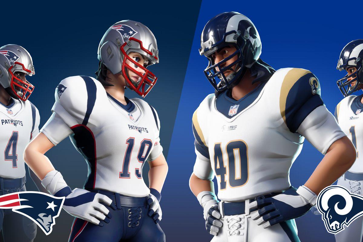 Fortnite NFL skins return for Super Bowl LIII - Polygon e41df273f