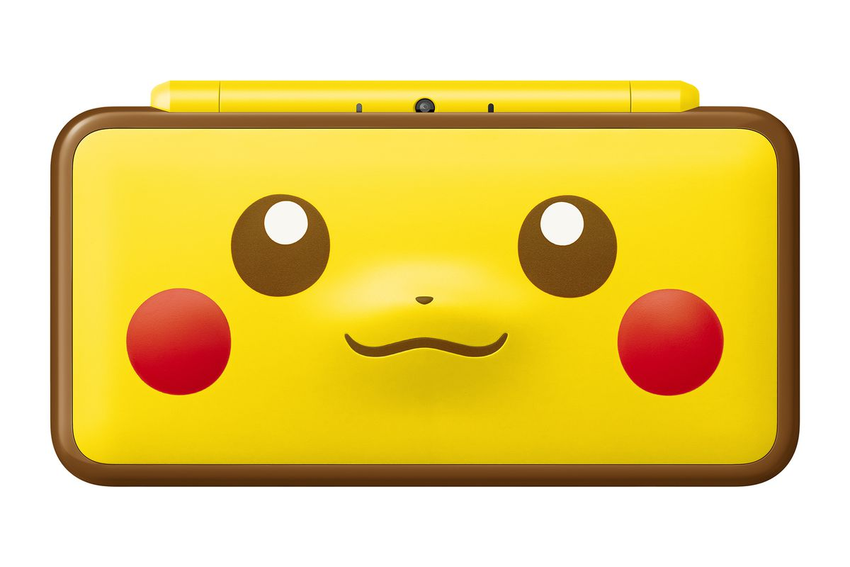 adorable pikachu 2ds xl coming jan 26 polygon