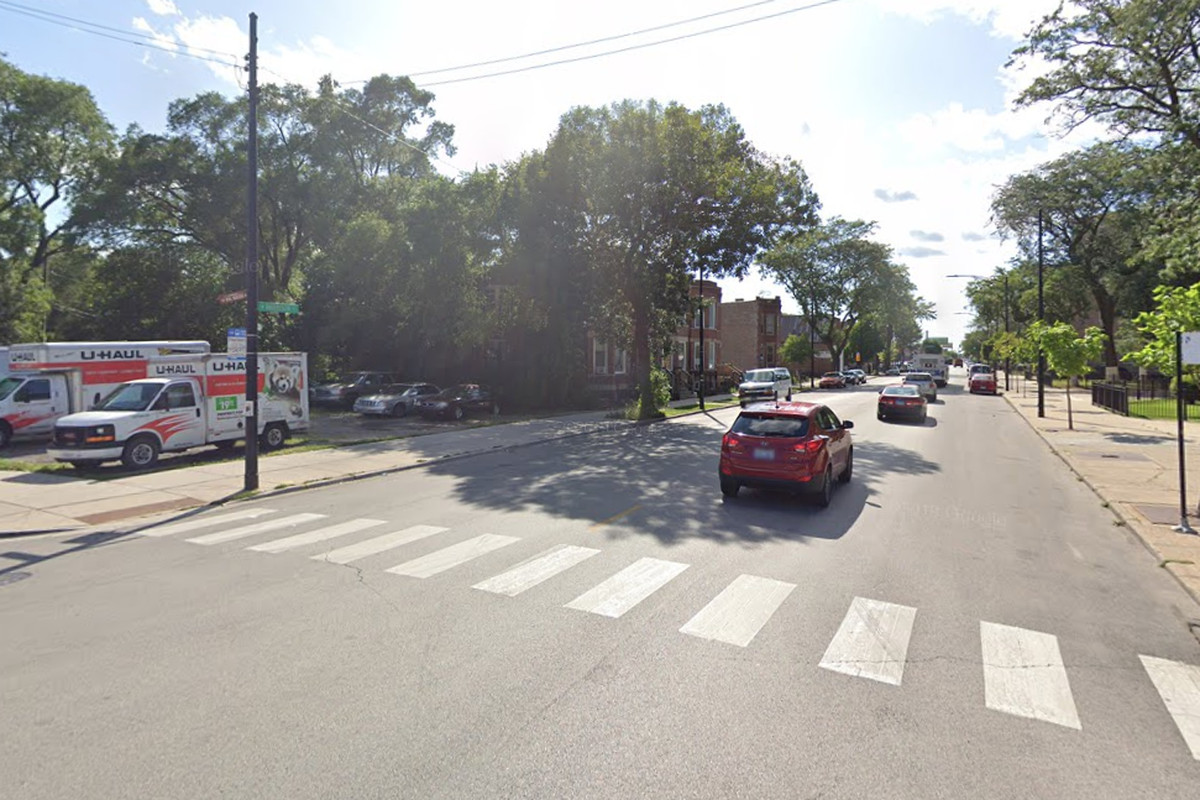 A man was shot and killed in Lawndale