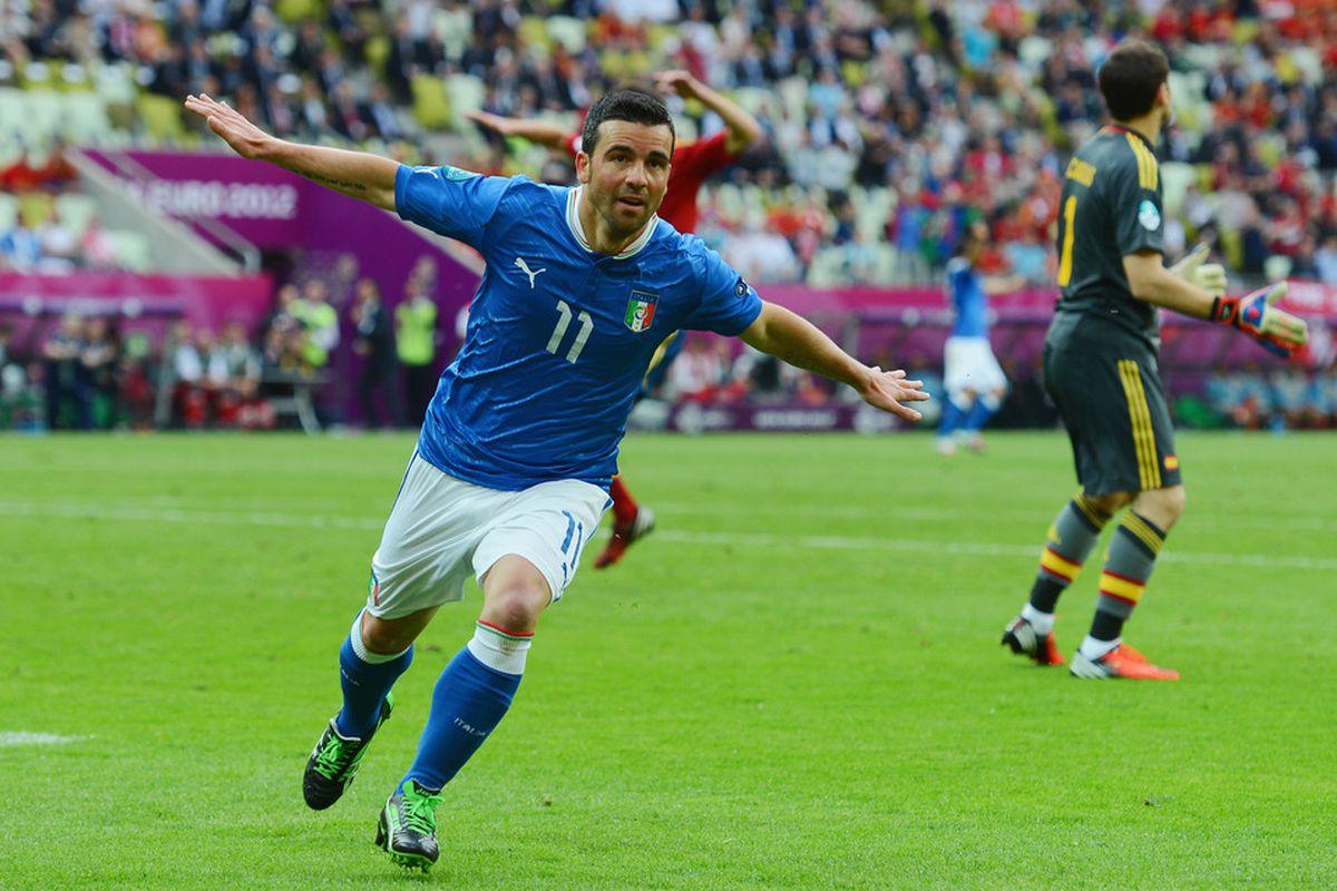 Will Di Natale take flight against Croatia this evening?