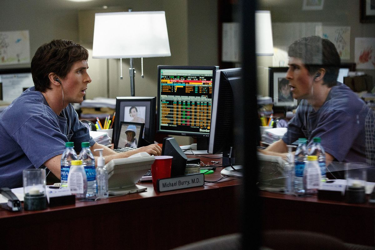 Christian Bale in The Big Short.