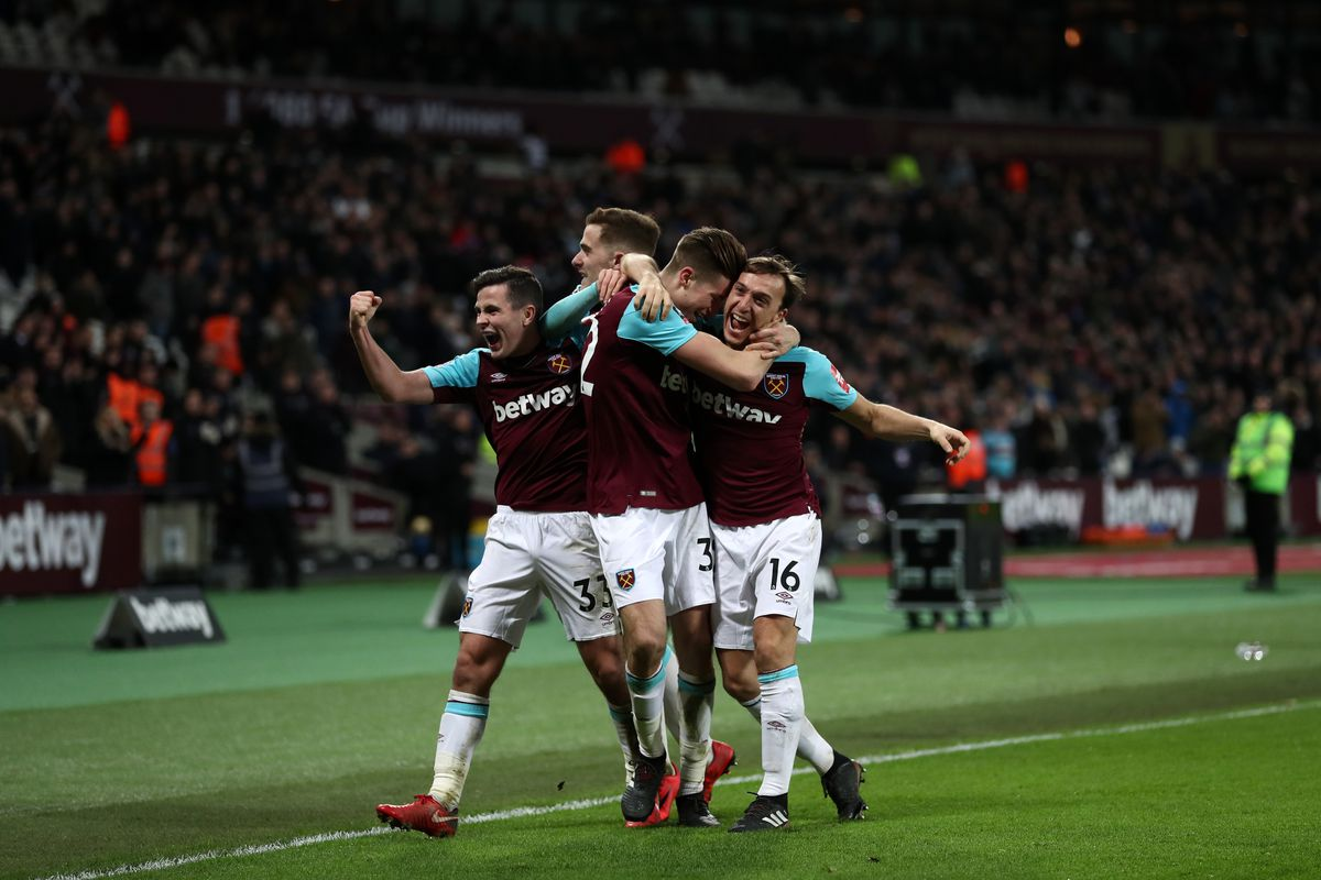 West Ham United v Shrewsbury Town - The Emirates FA Cup Third Round Replay