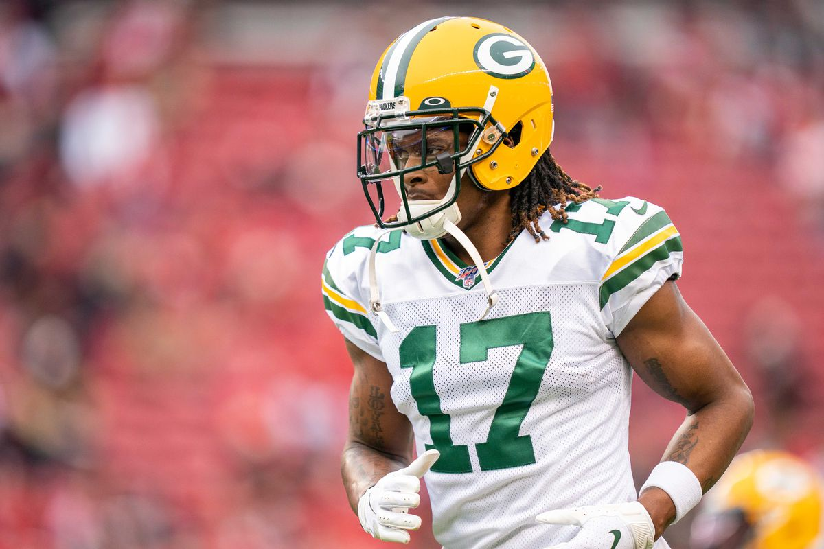 Green Bay Packers wide receiver Davante Adams before the NFC Championship Game against the San Francisco 49ers at Levi's Stadium.