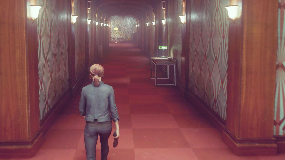 A corridor in Control's ashtray maze