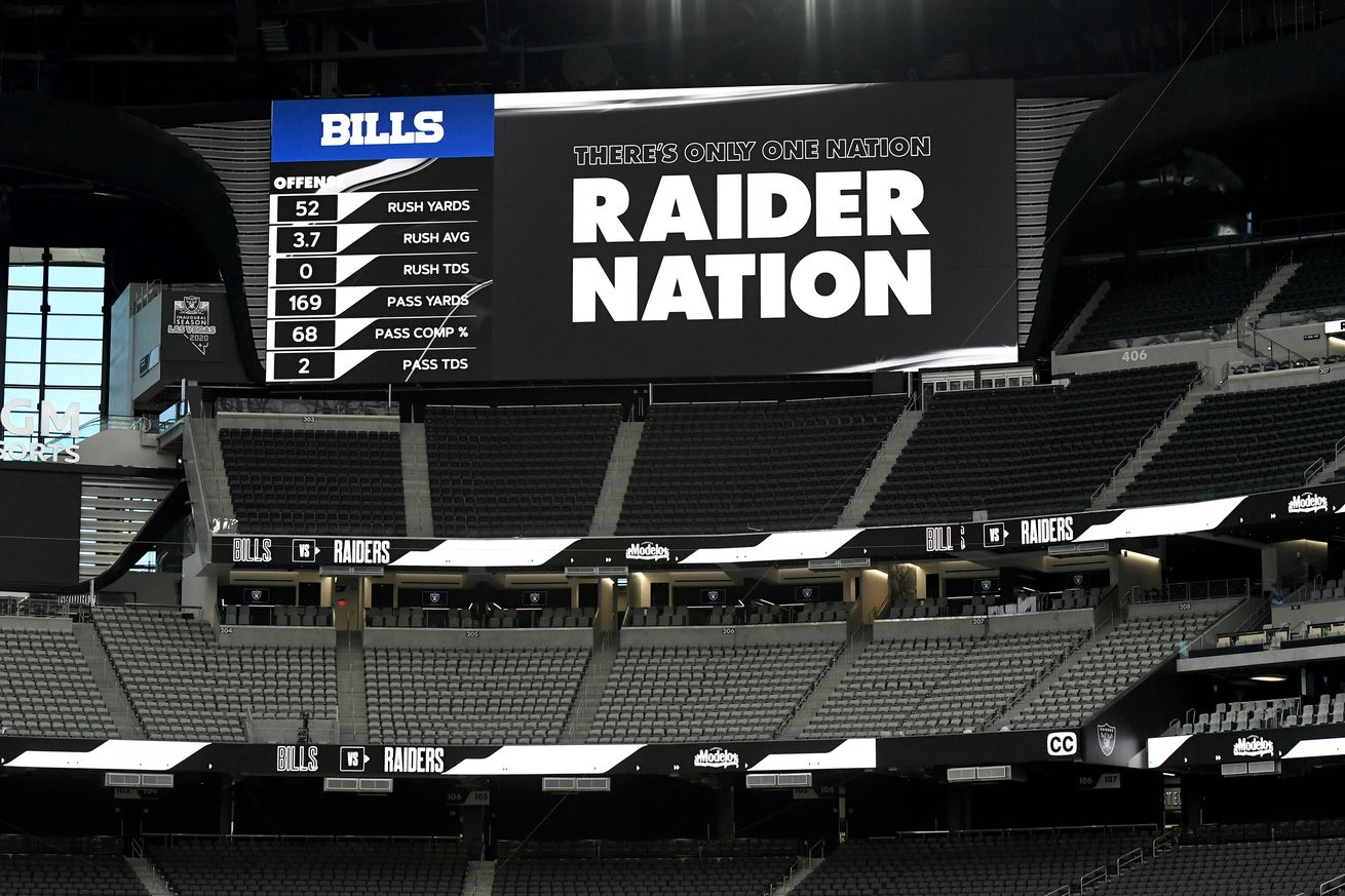 Buffalo Bills v Las Vegas Raiders