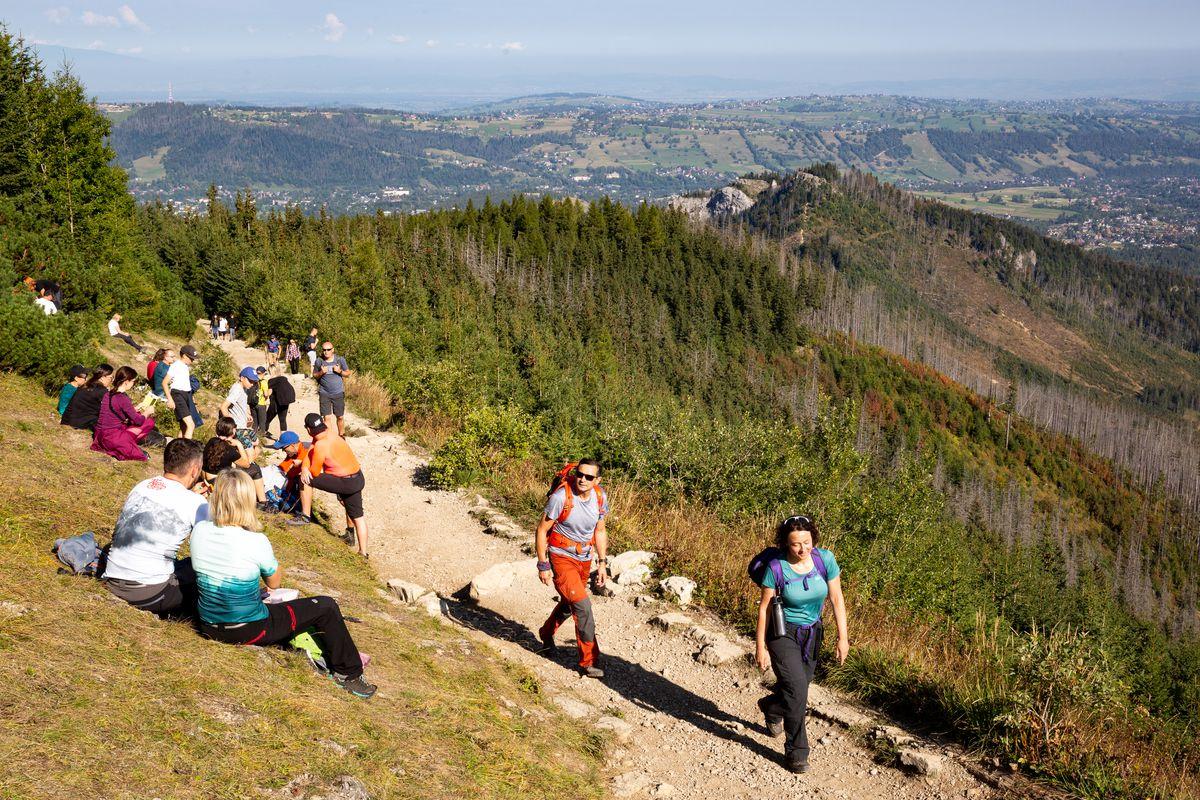 Crowds Still Visit Tatra Mountains In Poland