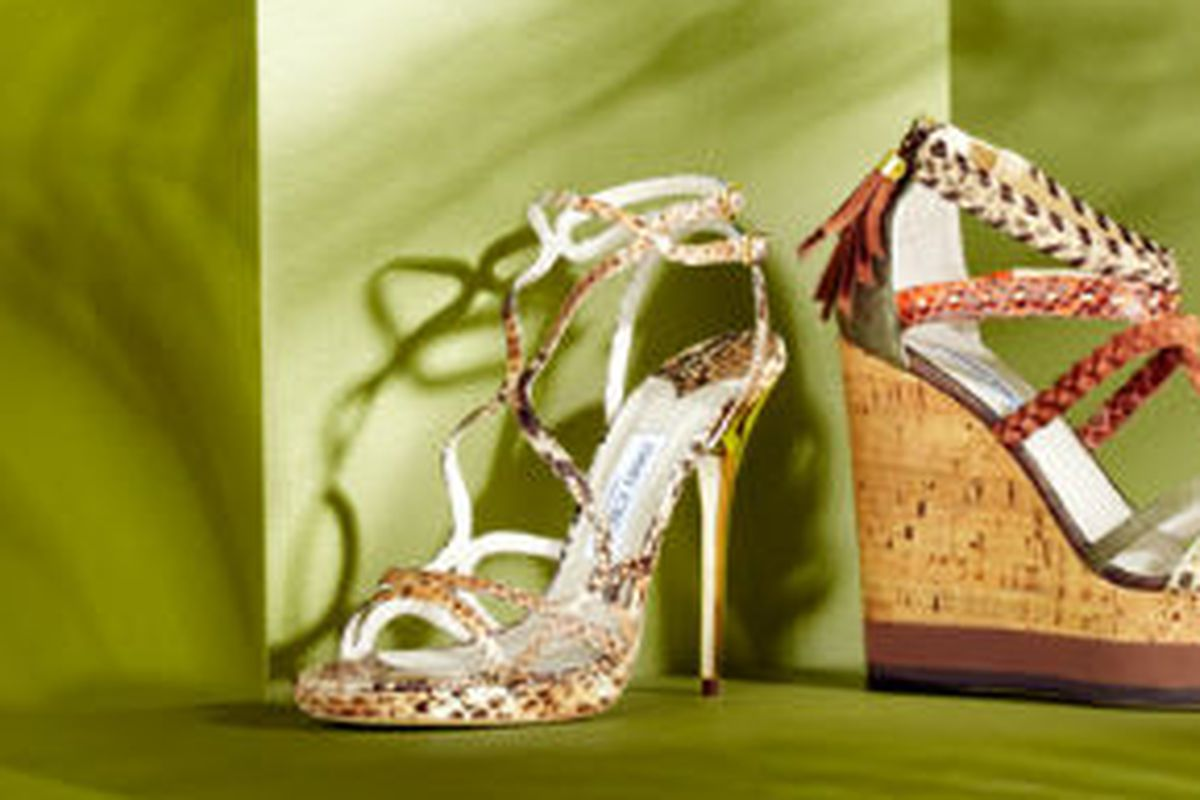 Jimmy Choo, today on Belle & Clive
