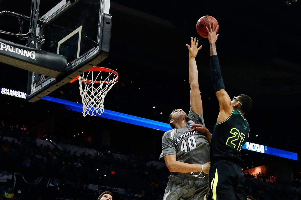 Isaiah Austin can do whatever he wants right over your head and you can't do a thing about it.