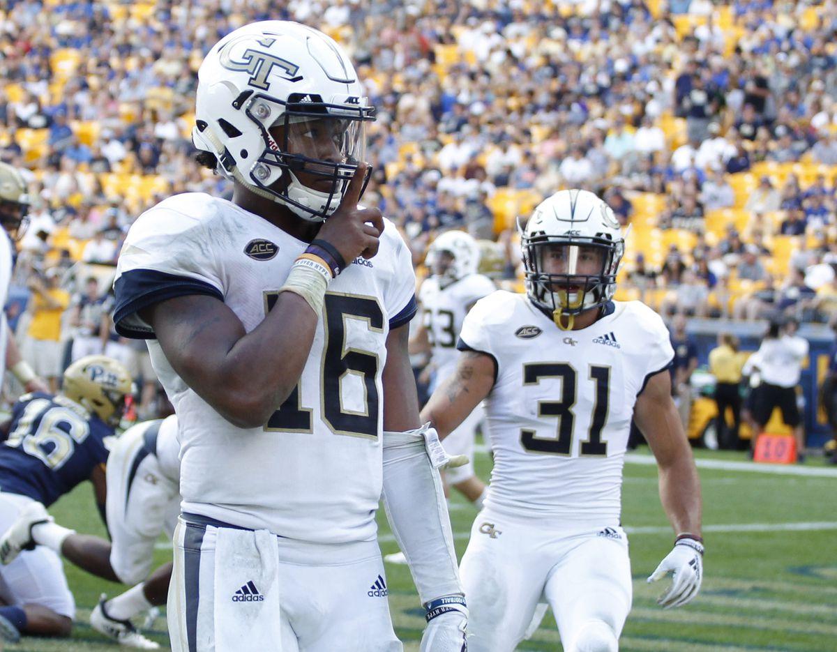 NCAA Football: Georgia Tech at Pittsburgh