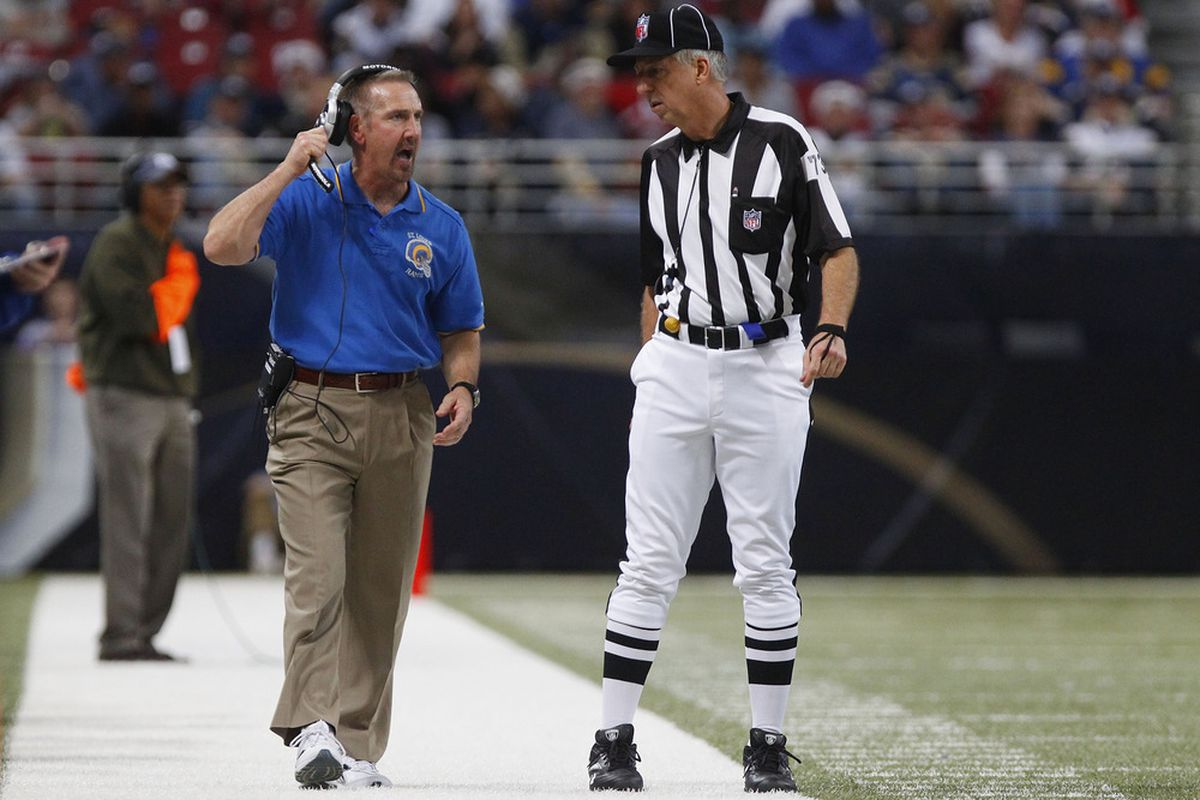 St. Louis Rams head coach Steve Spagnuolo is likely gone after the season. His performance compared to the rest of the NFC West has much to do with that.
