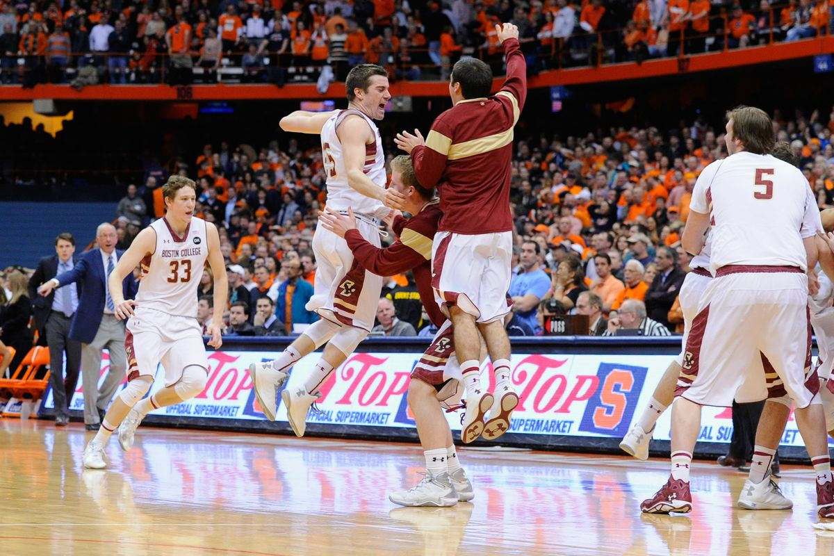 College Basketball Scores No 1 Syracuse Upset In Overtime