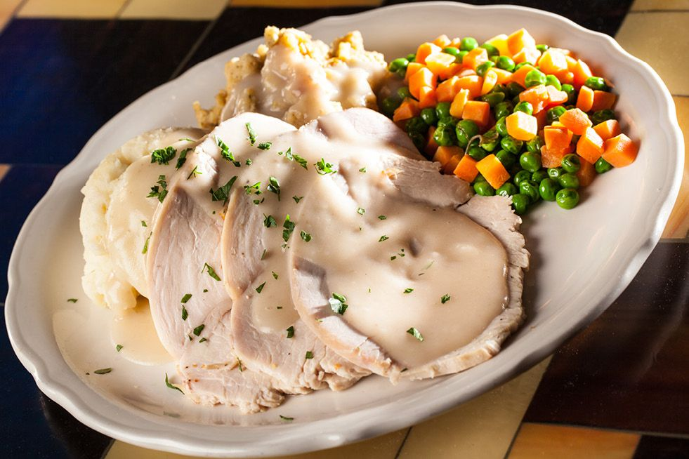 Thanksgiving plate at Farm