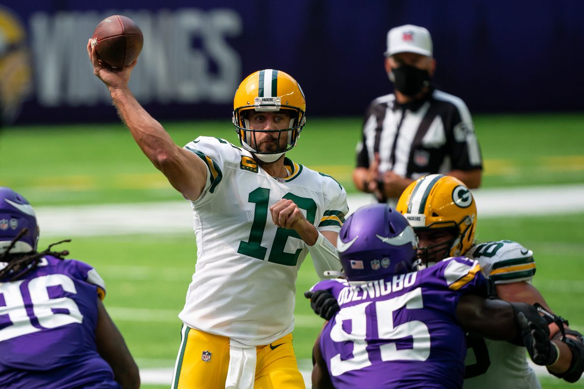 Packers silence doubts as Aaron Rodgers torches Vikings 43-34 - Acme  Packing Company