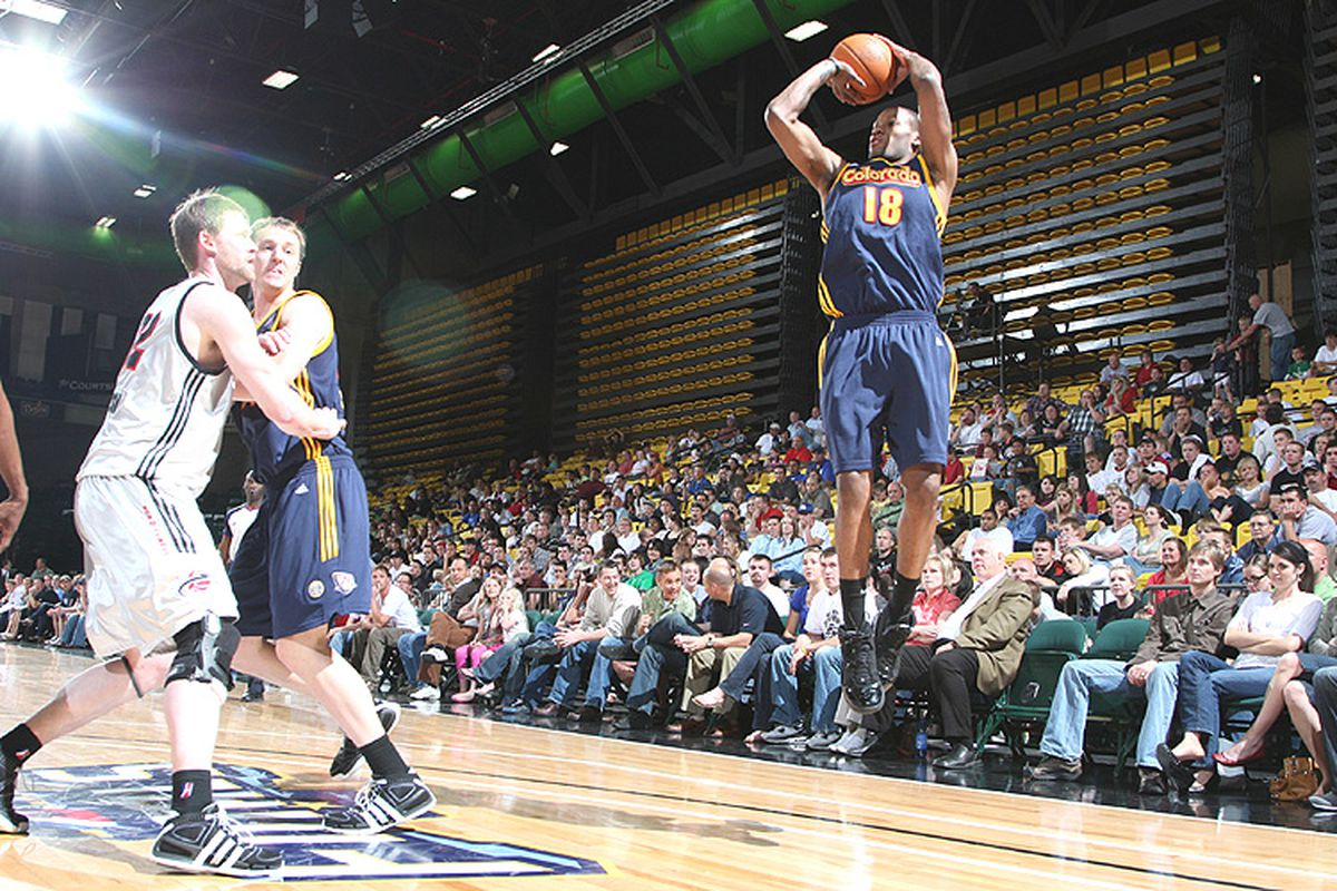 """<a href=""""http://www.nba.com/media/dleague/weems_750_090422.jpg"""">Sonny Weems was a big reason why the Colorado 14ers won the D-League championship.</a>"""