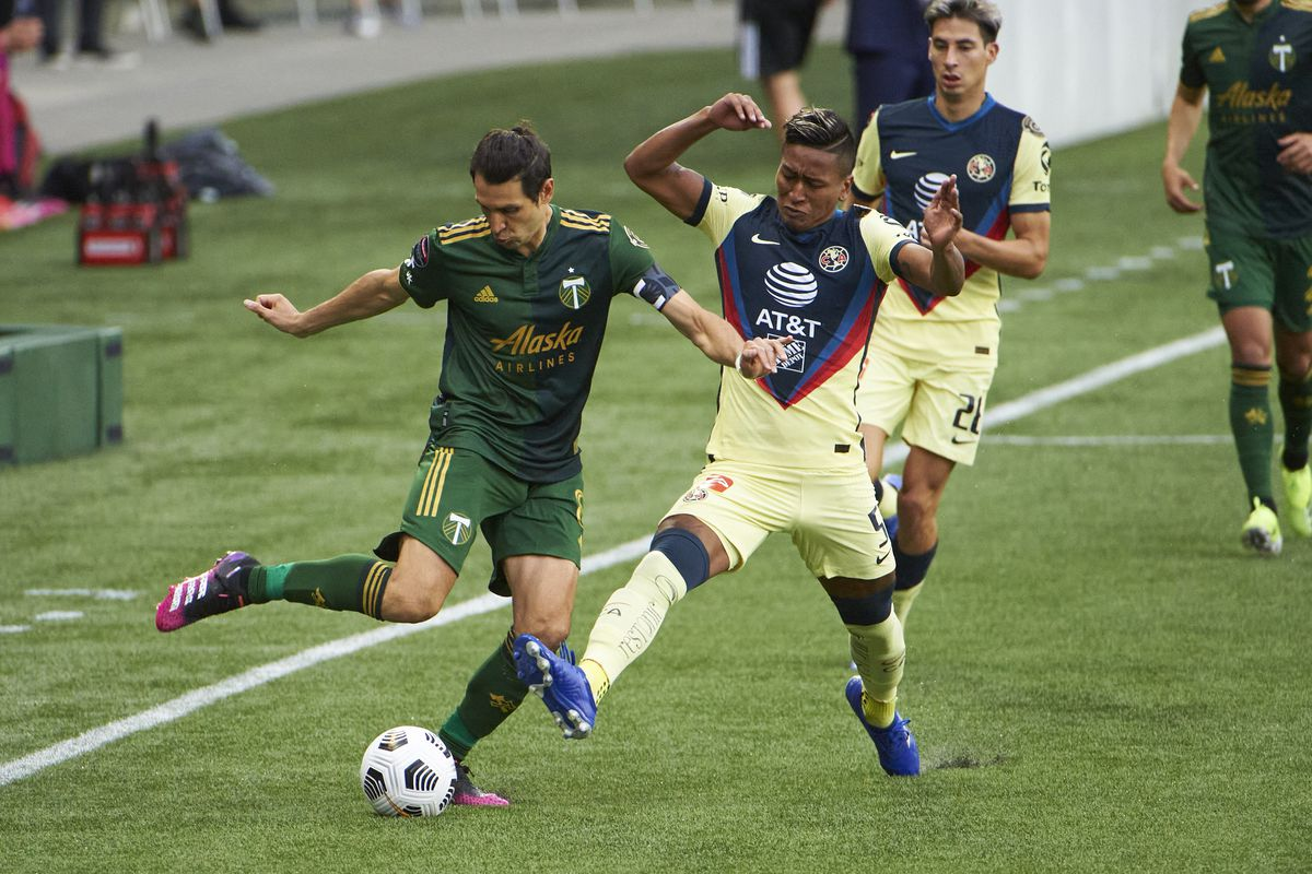 MLS: Concacaf Champions League-America at Portland Timbers