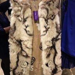 Ralph Lauren fur vest, $1,686