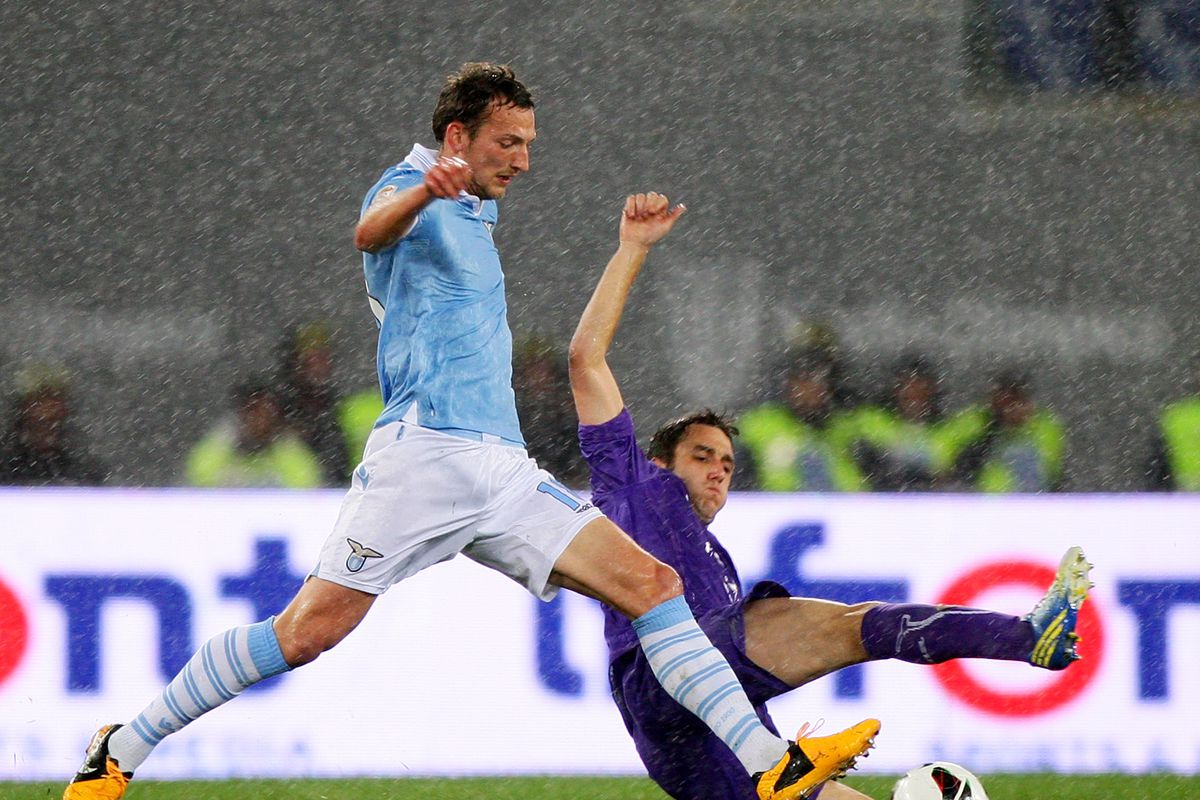 Gonzalo Rodriguez will look to continue his good form against Lazio