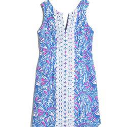 'My Fans' shift dress, $38, 2-18, 14W-26W (plus-size online only)