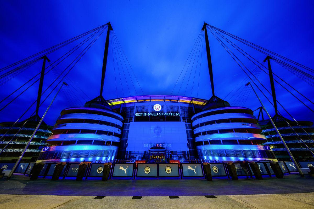 General Views of the Etihad Stadium for COVID-19 Memorial Day