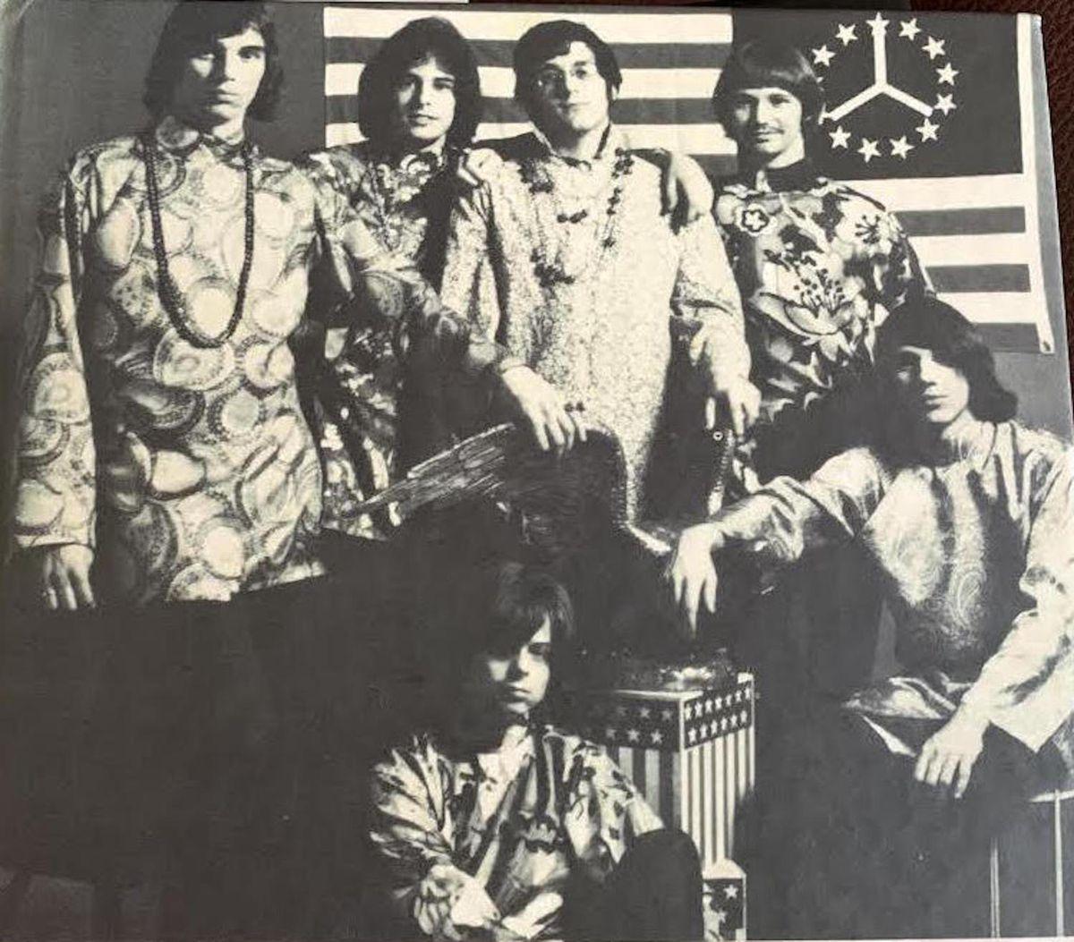 John Drake (far left) and the Amboy Dukes.