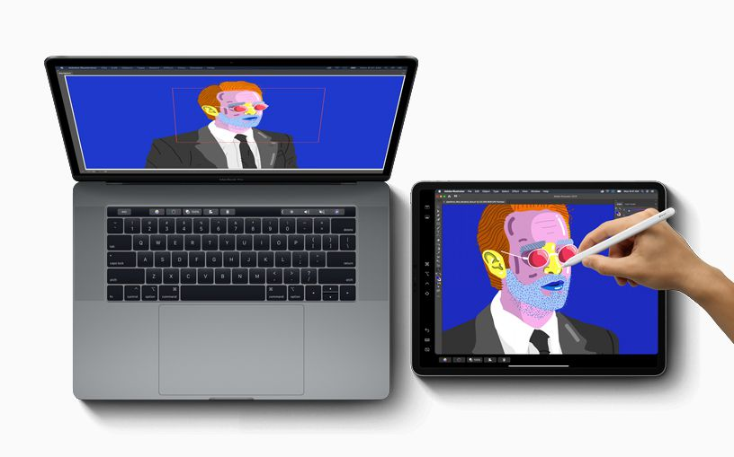 use ipad as drawing tablet for mac free