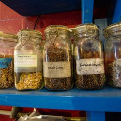 Spices in The Blending Room: