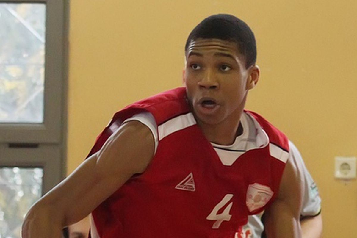 Giannis Antetokounmpo has exceptional potential as playmaking small forward.