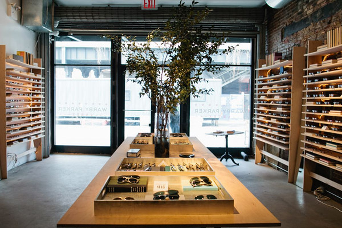 Warby Parker's Meatpacking District pop up
