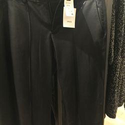 Vince leather pants, $149.25