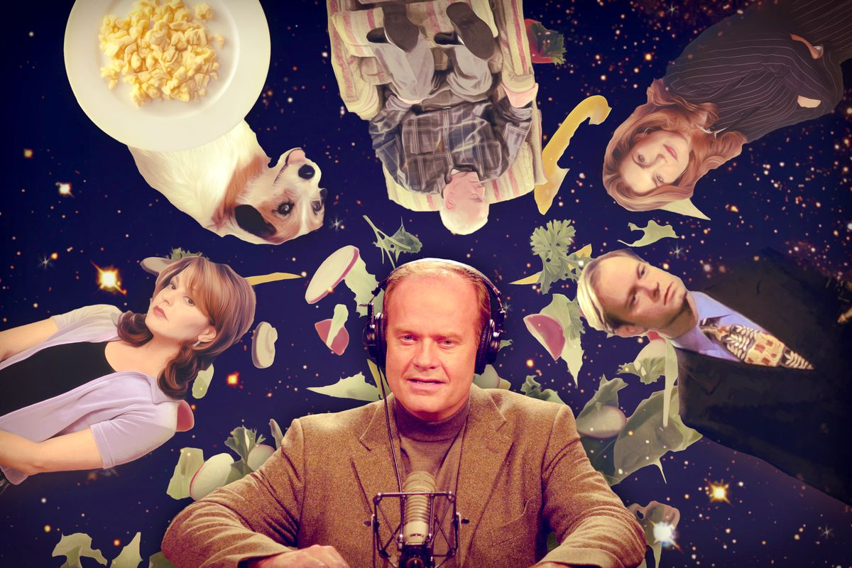 e936a01df Frasierverse and One Fan's 107 Unseen Seasons of 'Frasier' Spinoff ...