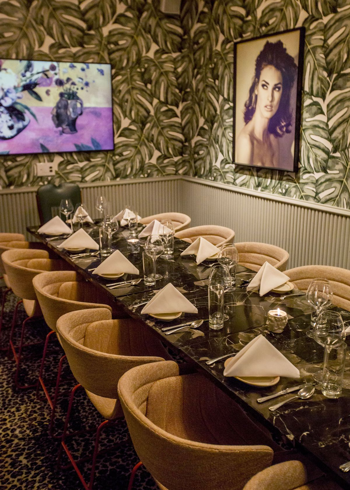 private dining room at Bar Charles