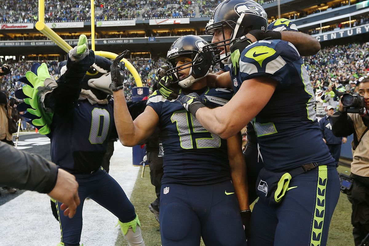 Jermaine Kearse is representing Washington Football when he takes the field in Super Bowl XLIX