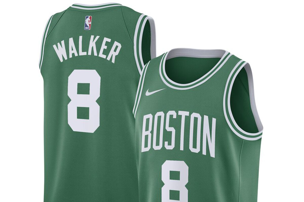 pretty nice 14605 fb666 The Kemba Walker era begins with his new Boston Celtics Nike ...