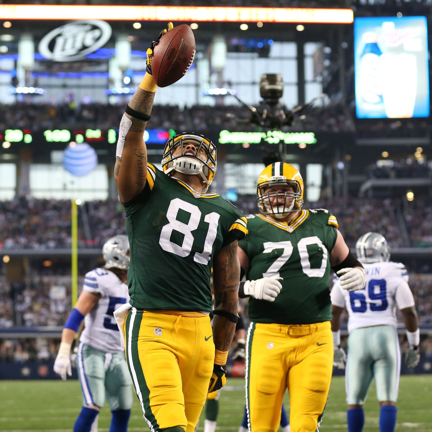 Packers Vs Cowboys Final Score 37 36 As Green Bay Completes Epic Comeback Acme Packing Company