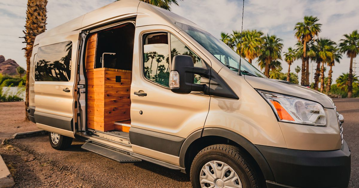 Small Camper With Slide Out >> Camper van comes with a slide-out foosball table - Curbed