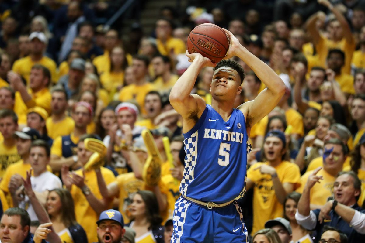 Uk Basketball: Kevin Knox Declares For 2018 NBA Draft