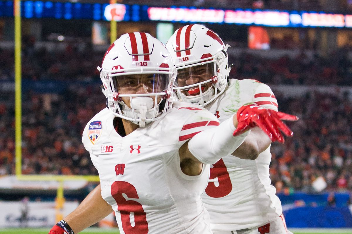 wisconsin football a look ahead at the badgers in 2018 bucky s