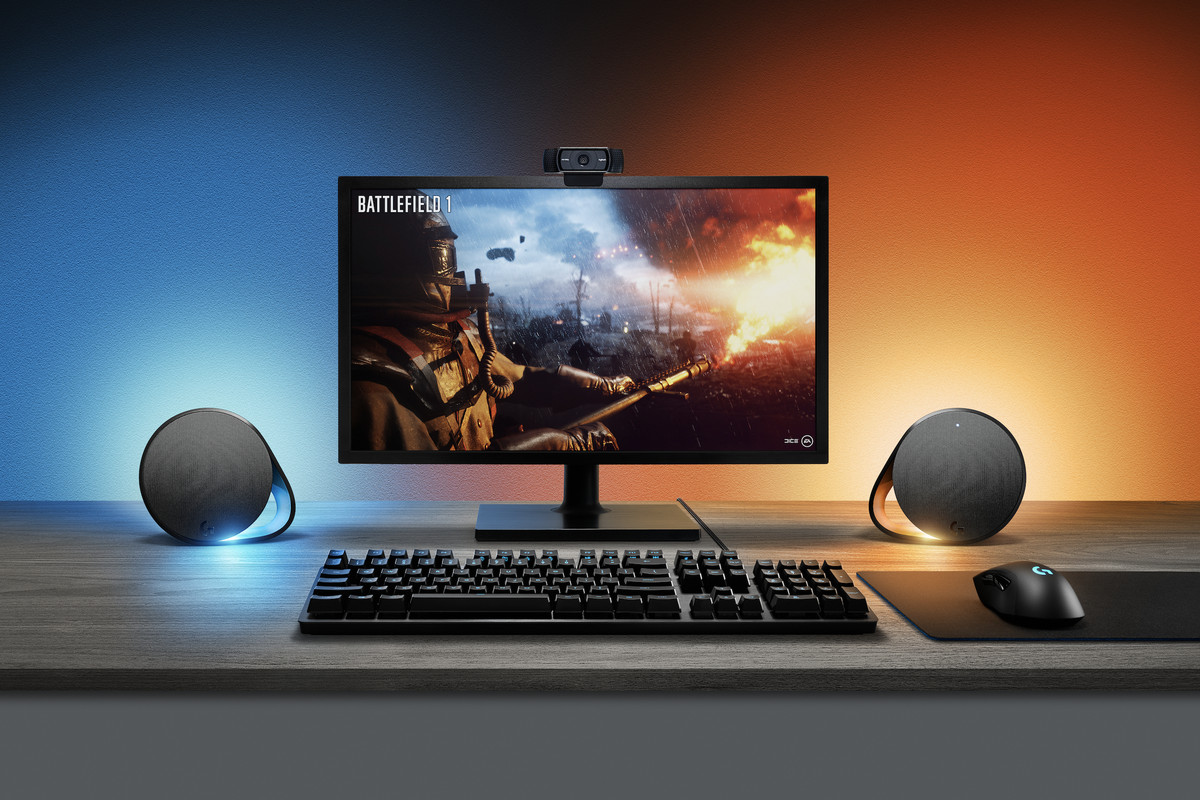 Logitech's new RGB speakers will complete you gaming den