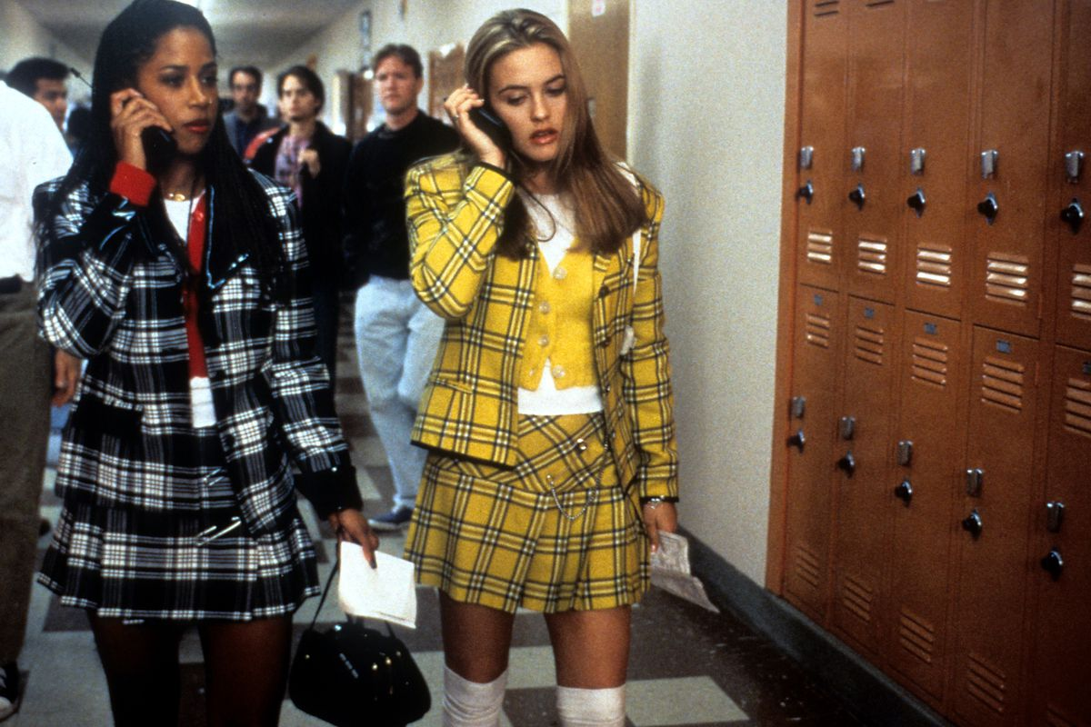 Cellphones and plaid skirts: still in style!