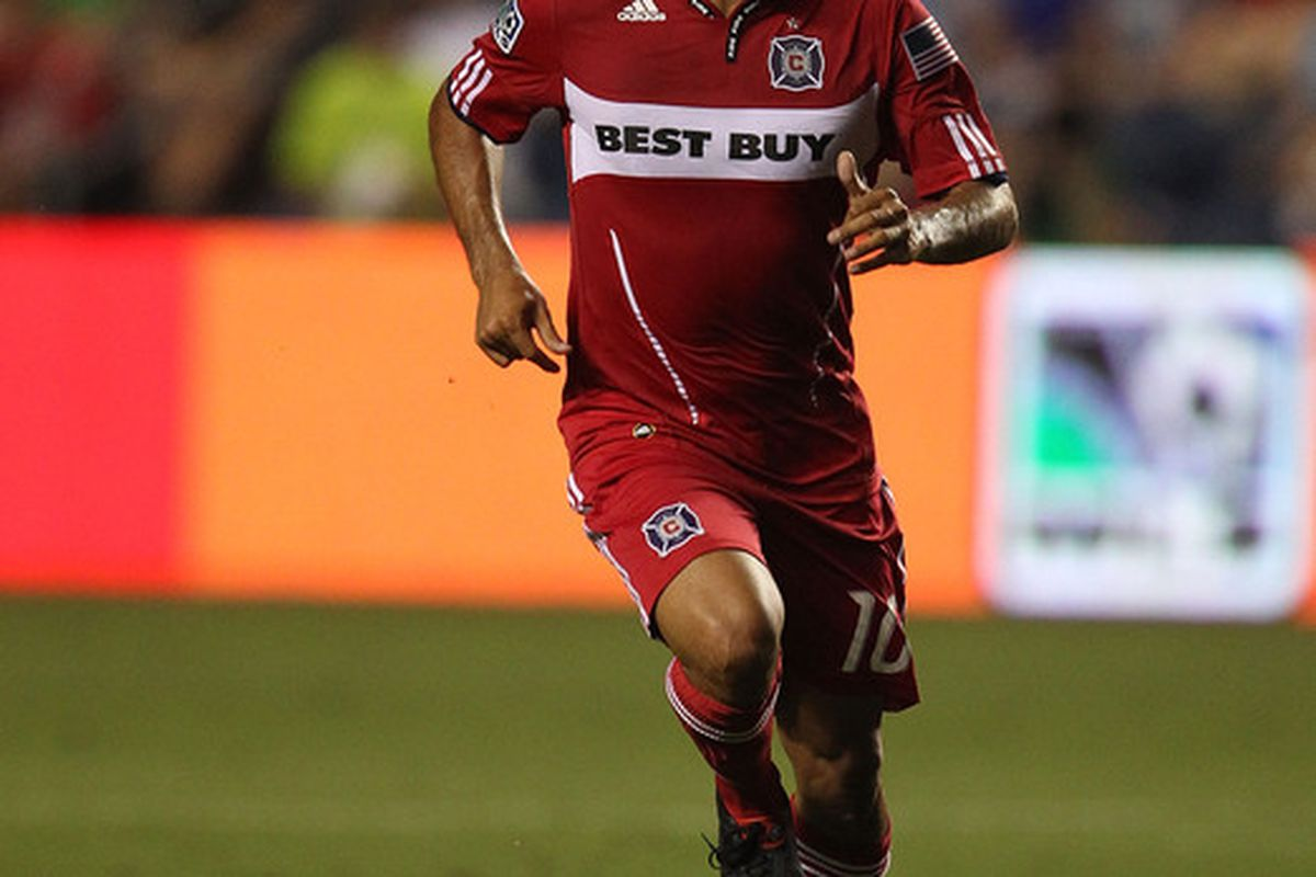 Behold Nery Castillo - the face of DP futility.