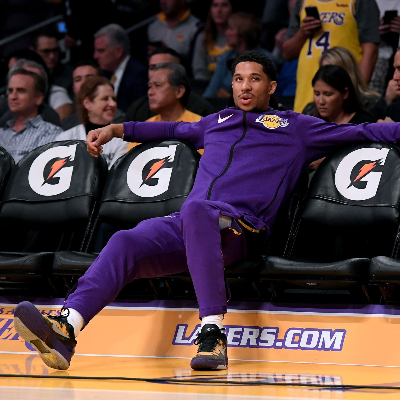 a2e633dbc12 Lakers keep leaving Josh Hart hanging on high-fives. This must end -  SBNation.com