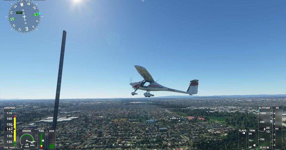 Microsoft Flight Simulator 2020: Large Sim Update 3 for Download- Patch Notes are here