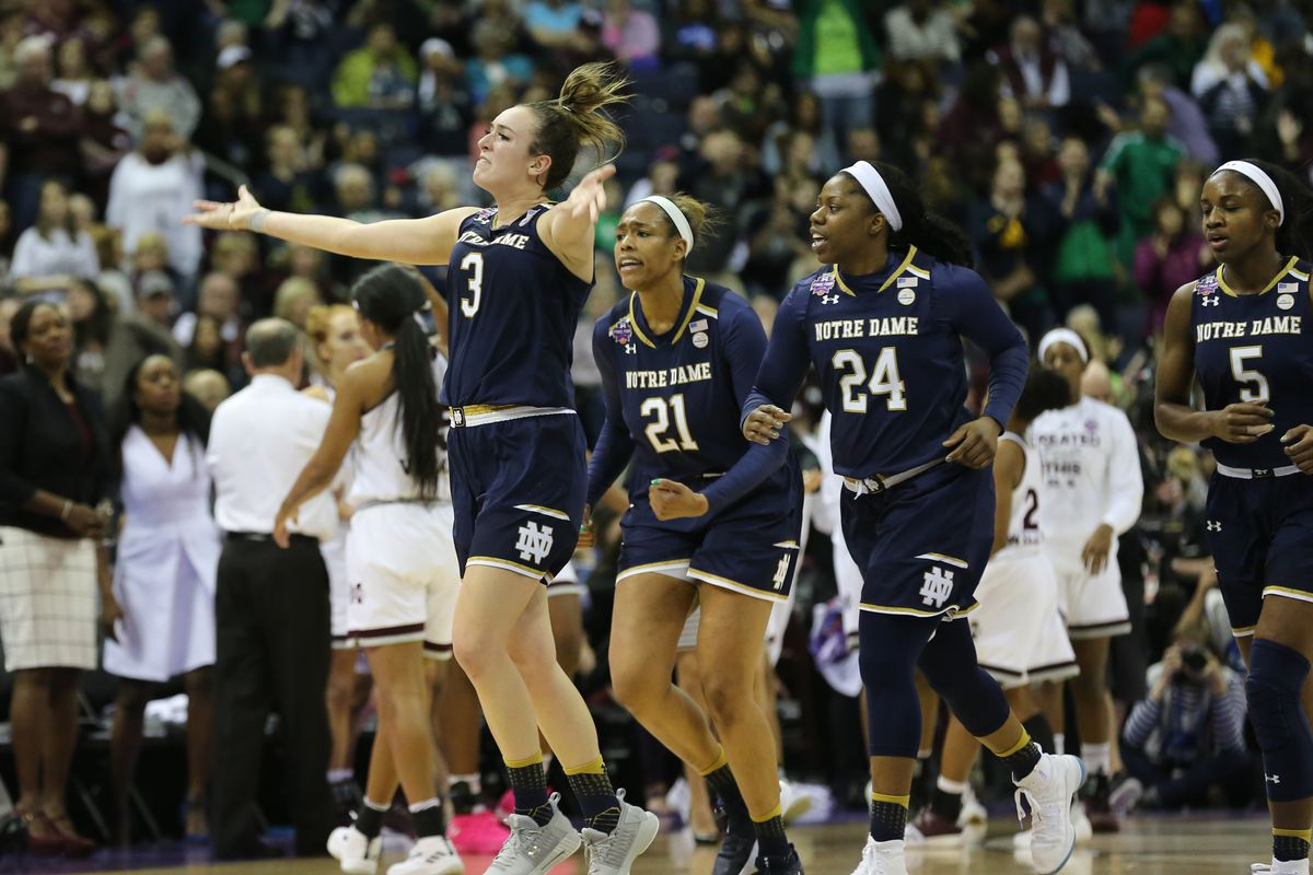 Notre Dame Wins Women's Basketball Title on Buzzer Beater