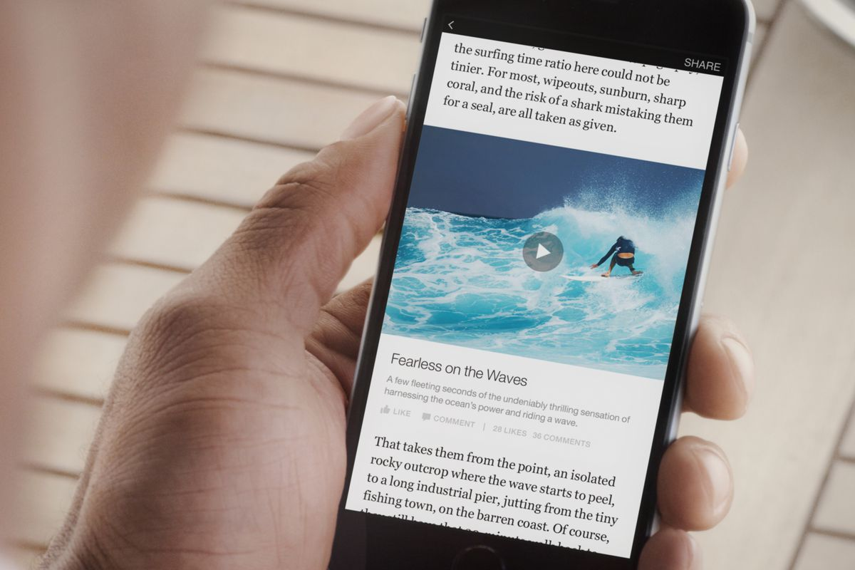 Facebook will allow paywalled Instant Articles later this year