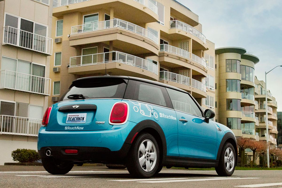 Smart Car Seattle: BMW Launches ReachNow Car-sharing Service In Seattle