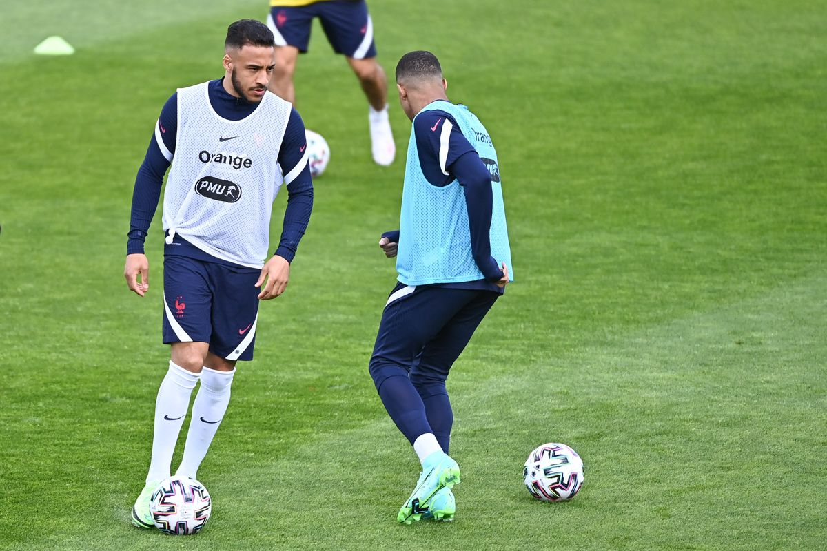 French national football team - Training session