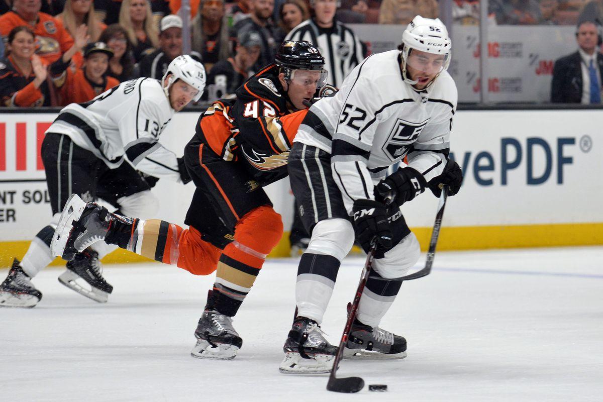 NHL: Los Angeles Kings at Anaheim Ducks
