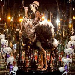 "Put it on a bird. <a href=""http://www.windowswear.com/image/7001/"">Galeries Lafayette, Paris, November</a>"