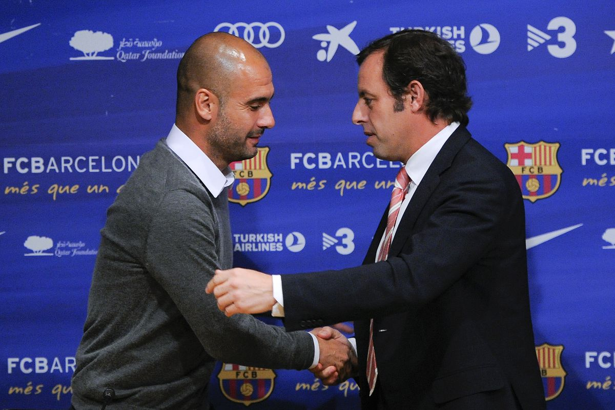 Josep Guardiola Not Renewing His Barcelona Contract